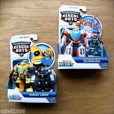 Transformers RESCUE BOTS Blades DANI BURNS Bumblebee MORBOT PLAYSKOOL HEROES lot