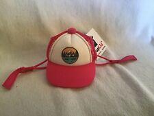 New listing PupLidTrucker Hats for Dogs (Xs) (Pink, All-Terrain) Fun & Stylish