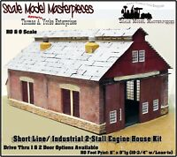 Scale Model Masterpieces/Yorke 2-Stall Shortline/Industrial Engine House Kit HO