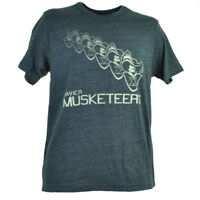 NCAA Xavier Musketeers Repeat Logo Navy Blue Distressed Mens Tshirt Tee Collage