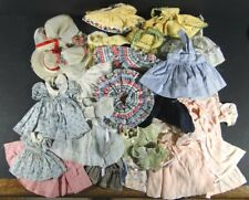 Vintage 75+ Year Old 33 Pieces Madame Alexander & Other Doll Clothes