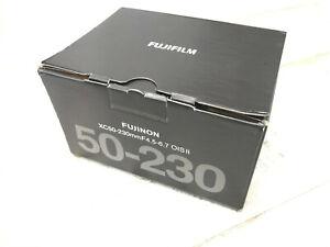 FujiFilm 50-230 Fujinon XC50-230MM F4.5-6.7 OIS II NEW
