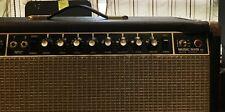 Musicman HD 130 reverb amp head 70's