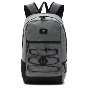 Vans SNAG PLUS Backpack (NEW) Laptop Compartment HEATHER GREY GRAY Free Shipping