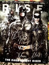 Dark Knight Rises Cast Signed 8x10 Photo w/COA - T Hardy,C.Bale,A.Hathaway +5S