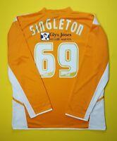 Singleton Blackpool jersey XL 2005 2007 shirt long sleeve soccer Uhlsport ig93
