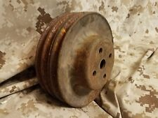 American Motors V-8 amx jeep cj 304 360 401 water pump pulley 3 groove oem