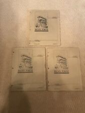Diesel Power Home School Lesson Books 1935 Antique Hit And Miss Gas Engine