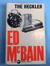 THE HECKLER -  FIRST EDITION SIGNED BY ED MCBAIN