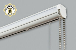 Complete Made To Measure Roman Blind Track Kits Up To 230cm - Superior Quality