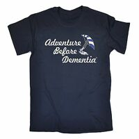 Adventure Before Dementia Kitesurf T-SHIRT Watersports Funny birthday gift