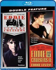 EDDIE AND THE CRUISERS / EDDIE AND THE CRUISERS II EDDIE LIVES BLU-RAY