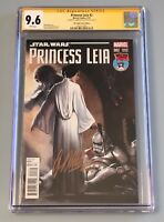 Star Wars Princess Leia #2 Variant Signed By Gabriele Dell'Otto (Marvel) CGC