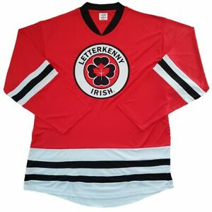 LETTERKENNY IRISH TV Series Hockey jersey. NEW! - Your name & number on back.