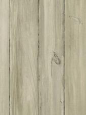 Grey & Beige Worn Wood Planks Wallpaper WS5968