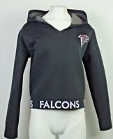 Atlanta Falcons Women Touch Pullover Black Hoodie NFL S