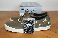 WTAPS x Vans Authentic Bones Olive US 11 NEW