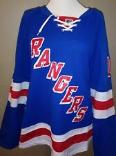 New York NY Rangers Marian Gaborik Reebok Jersey With Fight Strap Sz 50