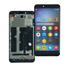 For ZTE ZMax Pro Z981 MetroPCS Black LCD Display Touch Screen Frame Assembly