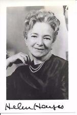 Helen Hayes Autograph