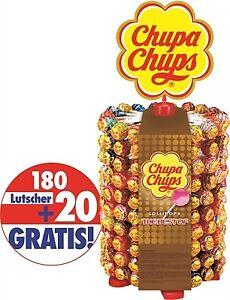 (8,75€/1kg) Chupa Chups Lutscher Rad, Lolly, 200 Stück = 2,4 kg