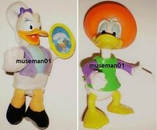 1993 DONALD DUCK in Mexico & 2001 DAISY DUCK w/Holographic Mirror FIGURES @LOOK@