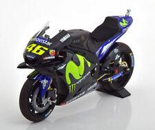 1:12 Minichamps Yamaha YZR-M1 Test Moto GP Valencia Rossi 2017