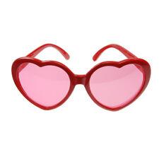 Brille 'Herz' rot Partybrille Photo Booth Festival Hochzeit JGA Spaßbrille