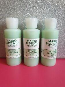 Mario Badescu Enzyme cleansing gel  x 3 , 59ml Each new