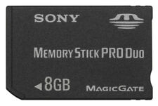 Sony 8GB Memory Stick Pro Duo Card BRAND NEW