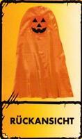 Kinder Kostüm Kürbisumhang Umhang Halloween Horror Grusel Fasching Karneval Gr.S
