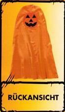 Kinder Kostüm Kürbisumhang Umhang Halloween Horror Grusel Fasching Karneval Gr.M