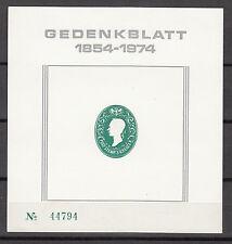 1975 Austria 1854-1974 Radnitzky Gedenkblatt sheet #44794