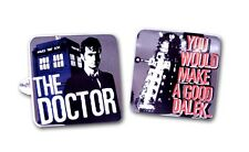 Dr Who & Dalek Cufflinks  NEW in Gift BOX   22761