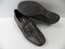 Chaussures PEDI GIRL ploemeur marron FEMME taille 41 cuir mocassins schuhe NEUF