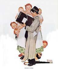 Norman Rockwell Us Bureaucrat Print Census Taker
