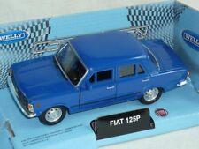 Fiat 125p 125 P Blau Limousine 1967-1972 Polski Fiat Ca 1/43 1/36-1/46 Welly Mod