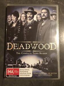 Deadwood Season 3 Dvd