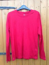 TU % 100 Fair trade Certified Cotton Red Top Blouse 16