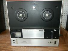 SONY TC-355 3 HEAD REEL TO REEL STEREO TAPECORDER Play Tested