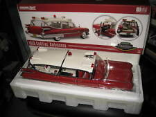 1/18 GREENLIGHT PRECISION COLLECTION 1959 CADILLAC AMBULANCE LTD EDITION AWESOME
