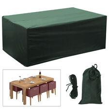 Heavy Duty Waterproof Protection Rattan Garden Furniture Dust UV Rain Cover
