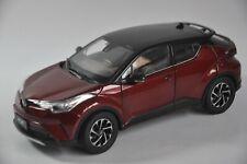 Toyota IZOA car model in scale 1:18 Red