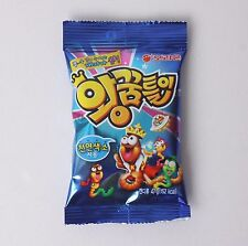 1Pack ORION 47g Giant Worm Shaped Gummy Soda Jelly Candy Korean Snack Korea Food