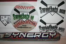 "New Easton Synergy Extended SCX14 Softball Bat 26 NIW non-ASA 13.5"" barrel RARE"