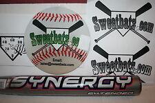 "New Easton Synergy Extended SCX14 Softball Bat 26 NIW non-ASA 13.5"" barrel RARE"