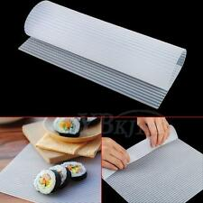 Sushi Roll Mould Mat Silicone Omelet Cake Rice Rolling Maker Washable Reusable