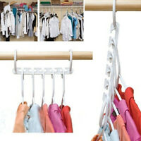 1pc Wonder Space Saving Magic Hanger Clothing Rack With Hook Closet Organizer