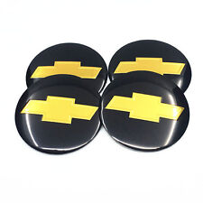 4Pcs 56MM Car Wheel Center Hub Cap Emblem Badge Decal Stickers For Chevrolet1063