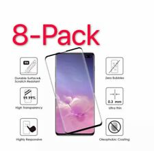 8Pack Case Friendly Tempered Glass Screen Protector For Samsung Galaxy S10e N10+